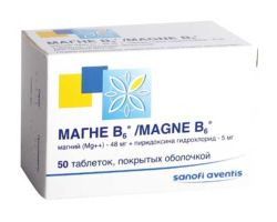 Инструкция по приему и лечению препарата Магне В6