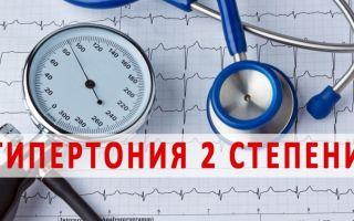 Гипертоническая болезнь второй степени