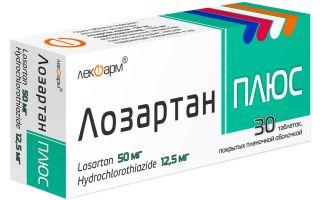 Лозартан: рекомендации по применению препарата