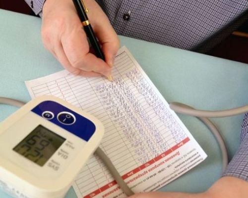 Дневник самоконтроля артериального давления