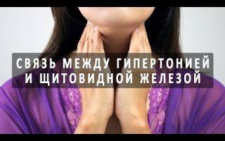 Взаимосвязь щитовидной железы и давления
