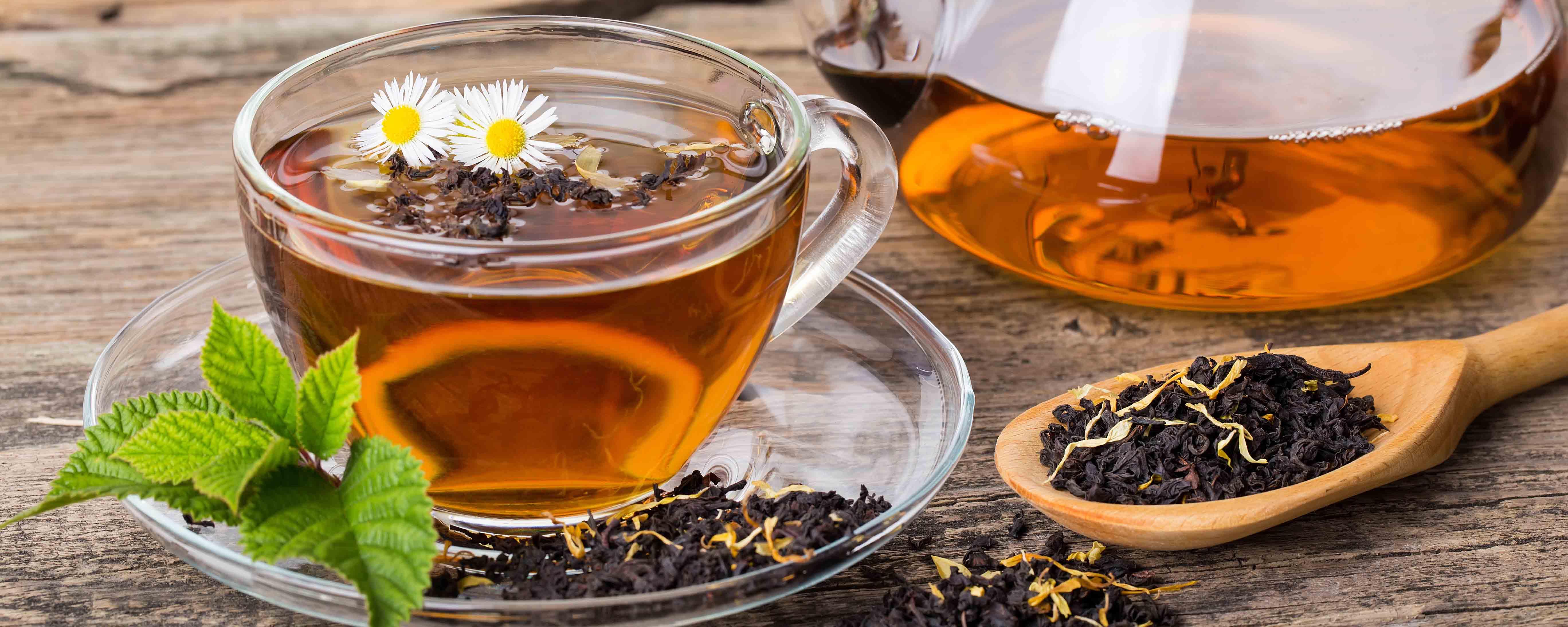 Влияние черного чая на организм