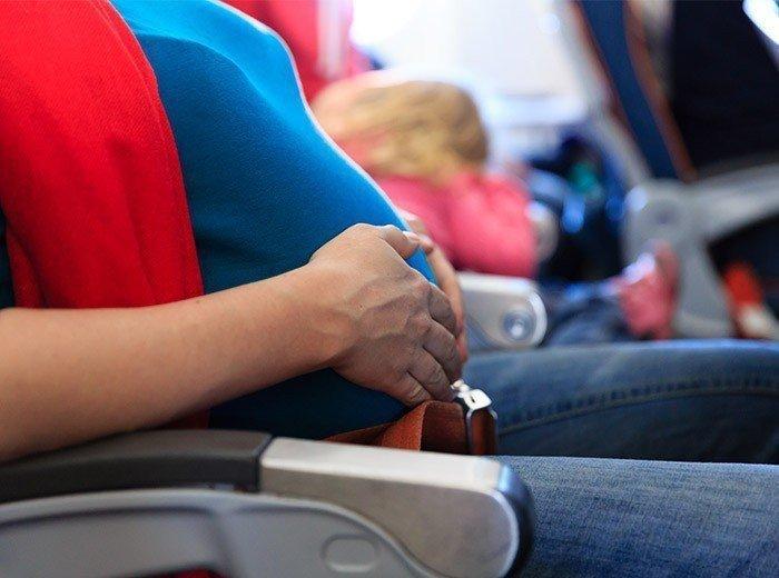 Перелеты во время беременности