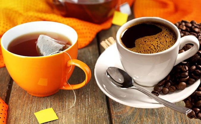 Чай или кофе от давления