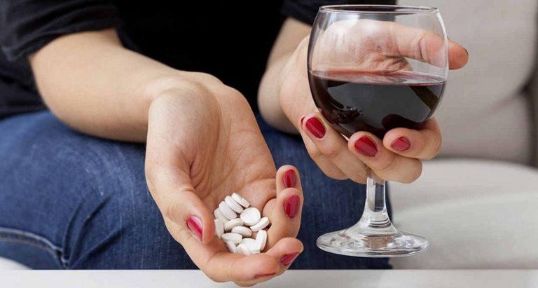 Алкоголь при давлении