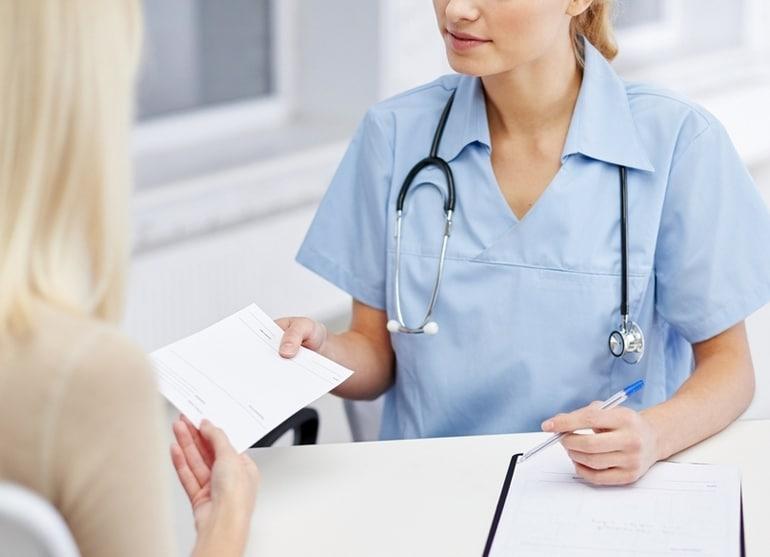 Выдача больничного