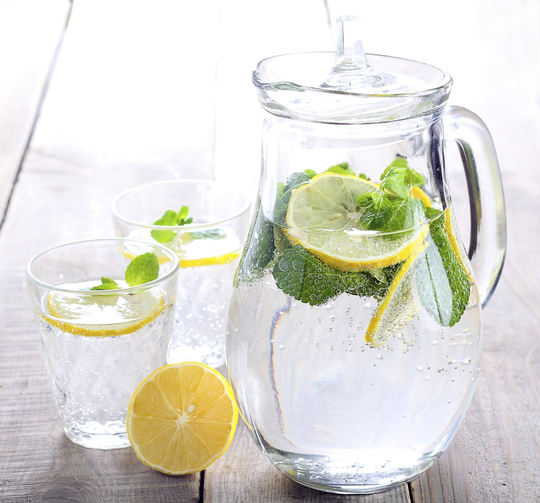 Лимонная вода при гипертонии