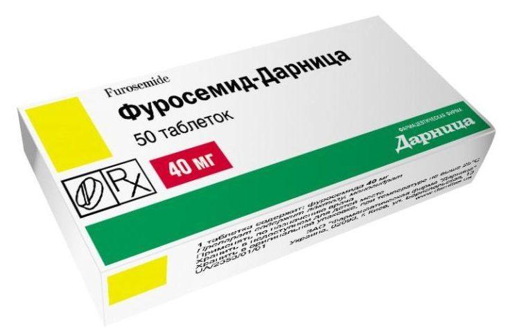 Мочегонный препарат Фуросемид