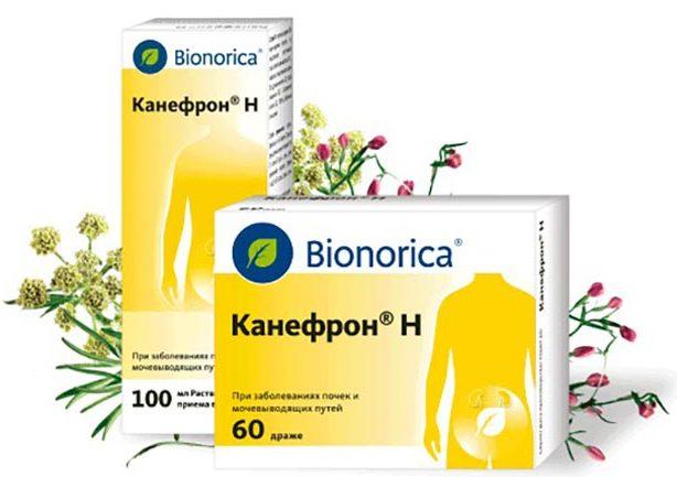 Мочегонный препарат Канефрон
