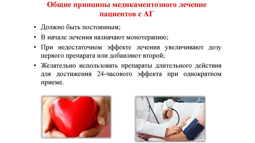 Медикаментозное лечение давления