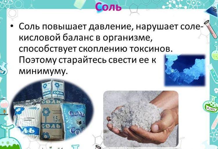 Соль и гипертония