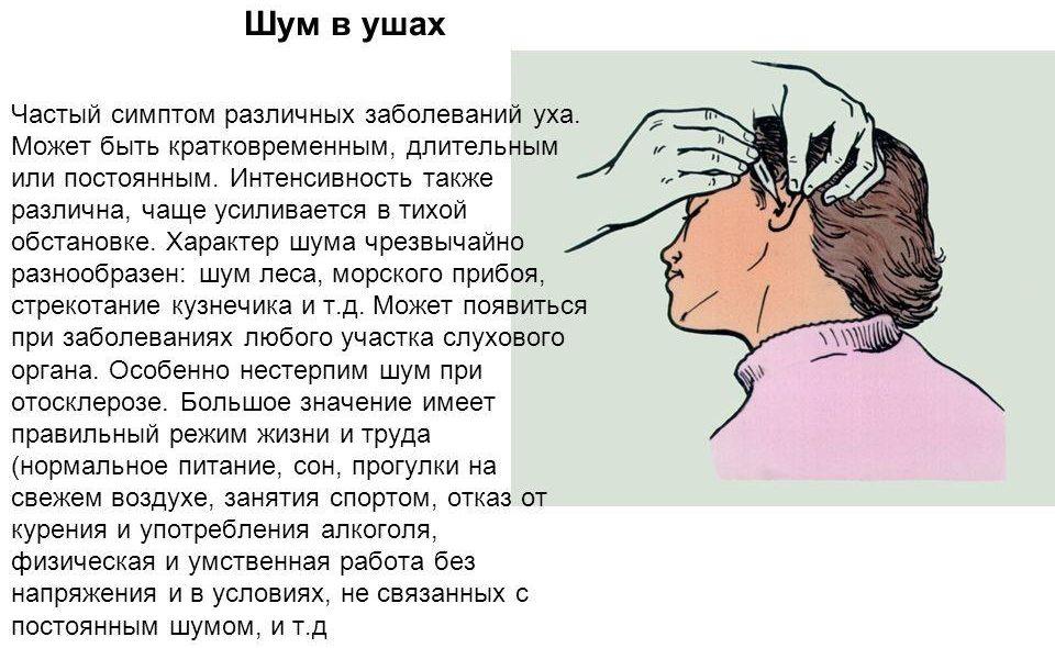 Почему появляется шум в ушах